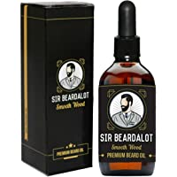 Sir Beardalot Olio da Barba per Uomo –Legno avvolgente- 30ml