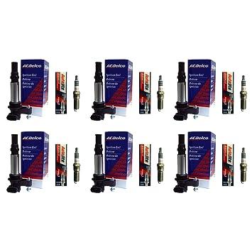 Seis Acdelco México bs-c1508 Bobinas de encendido + Seis autolite xp5263 Bujías