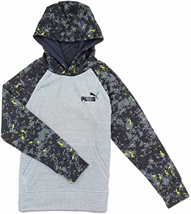 PUMA Boys Digital Print Active Hoodie