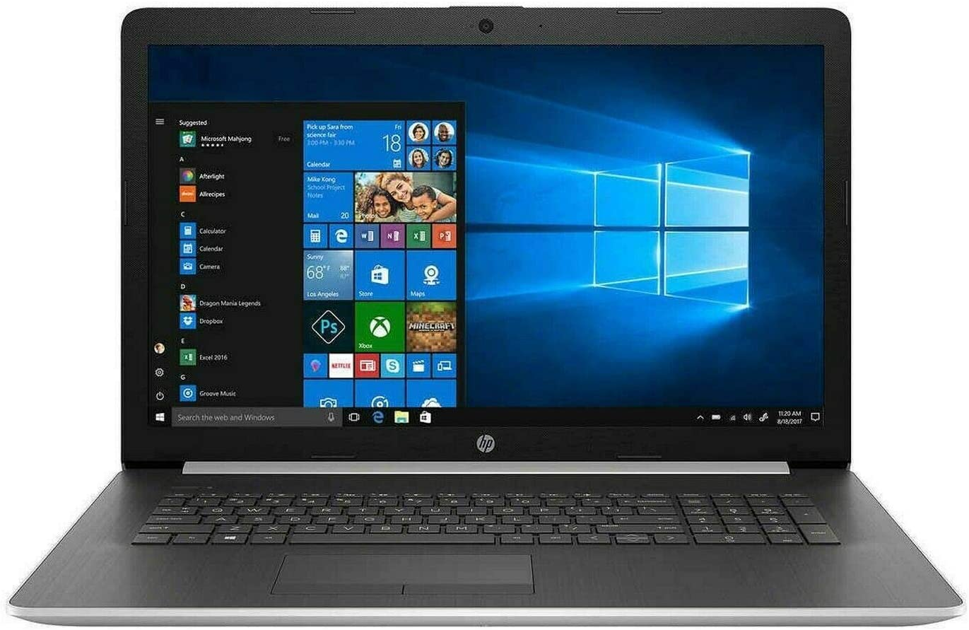 Newest HP 17 Thin and Portable Laptop, 17.3