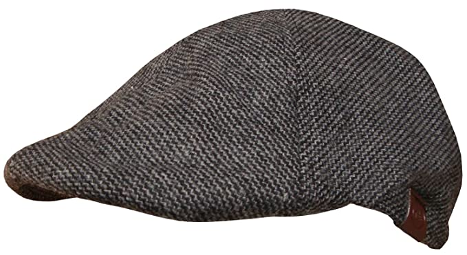 798ecafe36153 Mens 6 Panel Duck Bill Flat Cap (Large   X-Large