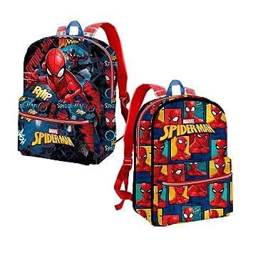Karactermania Spiderman Smash Mochila Infantil, 31 cm, Azul: Amazon.es: Equipaje