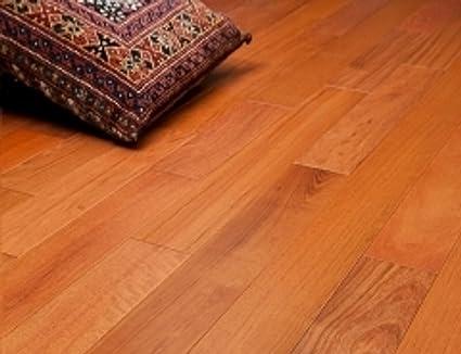 Brazilian Cherry Clear Prefinished Solid Wood Flooring 5 X 34