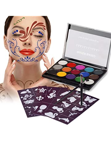 Pintura facial para disfraces | Amazon.es