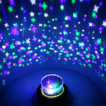 Awesome OxyLED Projector Night Light/Atmosphere Lamp/Ambient Light, 6 Light Modes U0026  5