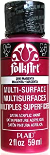 product image for FolkArt Multi-Surface Paint in Assorted Colors (2 oz), 2898, Magenta
