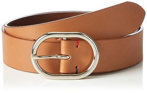 Tommy Hilfiger Classic Oval Belt 3.5, Cintura Donna