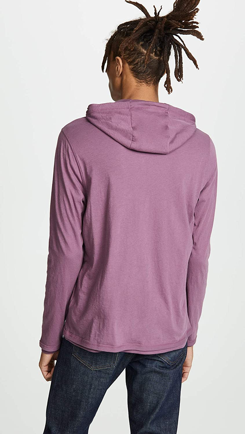 Vince Mens Double Layer Hoodie