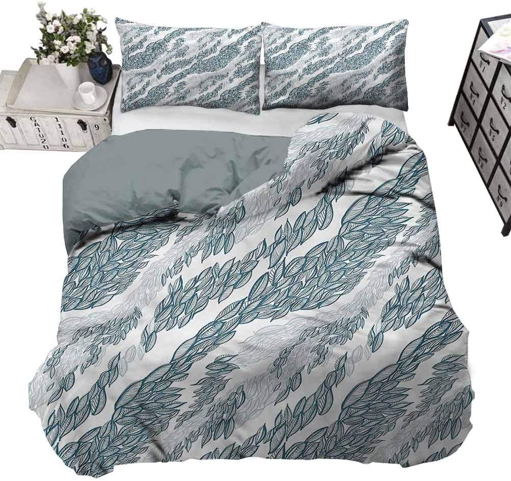 80 x 90 Inch Quilt Cover Compass Windrose Discovery Ultra Soft Duvet Cover Set Soft Touched but Strength and Durable Full