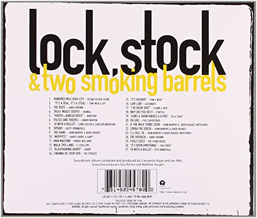 Lock Stock And Two Smoking Barrels Soundtrack Free Download