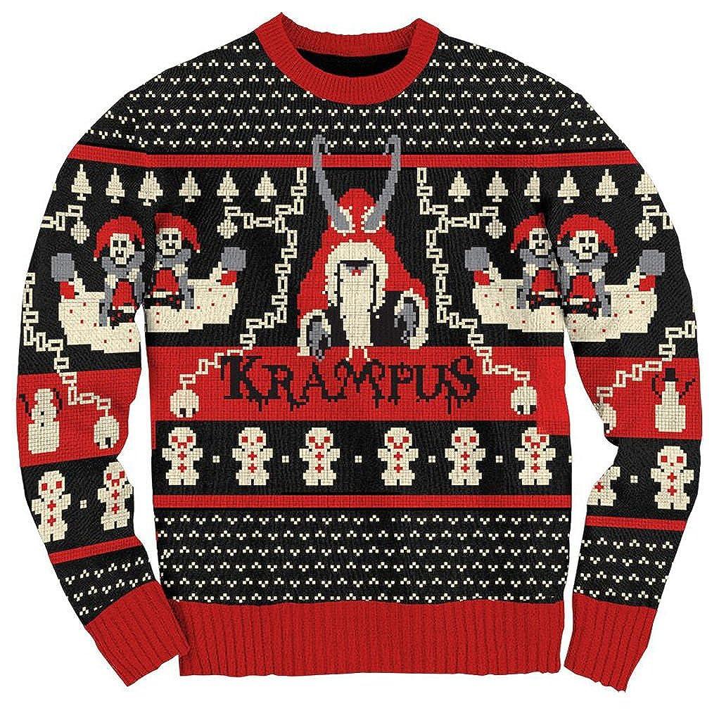 Ripple Juction Krampus Knit Ugly Christmas Sweater