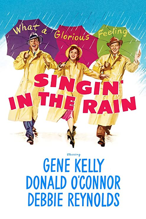 Image result for singin in the rain poster