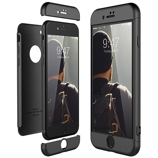 2 opinioni per CE-Link Cover per Apple iPhone 7 360 Gradi Full Body Protezione, Custodia iPhone