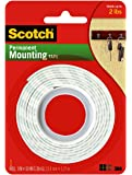 3M Scotch 114/DC Heavy Duty Mounting Tape, 1 x 50-Inch