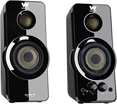 Woxter Big Bass 95 - Altavoces Multimedia Estéreo, 20W, Potentes ...