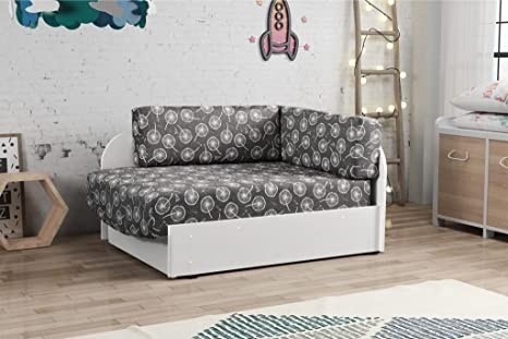 Camera Da Letto Con Divano Letto : Filip bambini gioventù divano letto con cuscini di immagazzinaggio
