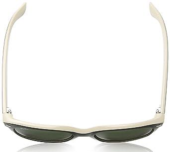 Amazon.com  Ray-Ban New Wayfarer RB2132 Sunglasses-875 Black On Beige Crystal  Green-55mm  Ray-Ban  Clothing 68a73451ddf7