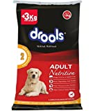 Drools Chicken and Egg Adult Dog Food, 15kg (3kg Extra FREE inside*Limited offer stock)
