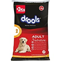 Drools Chicken and Egg Adult Dog Food, 15kg (3kg Extra Free inside Limited offer stock)