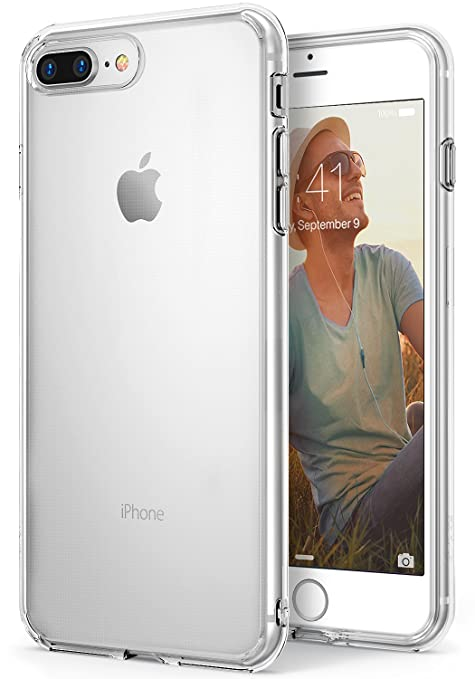 custodia iphone 8 plus trasparente