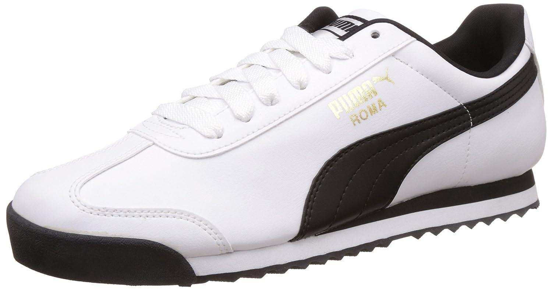 Puma Roma Basic, Scarpe da Ginnastica Basse Uomo Bianco (bianca-nero) | Alta Qualità  | Scolaro/Signora Scarpa