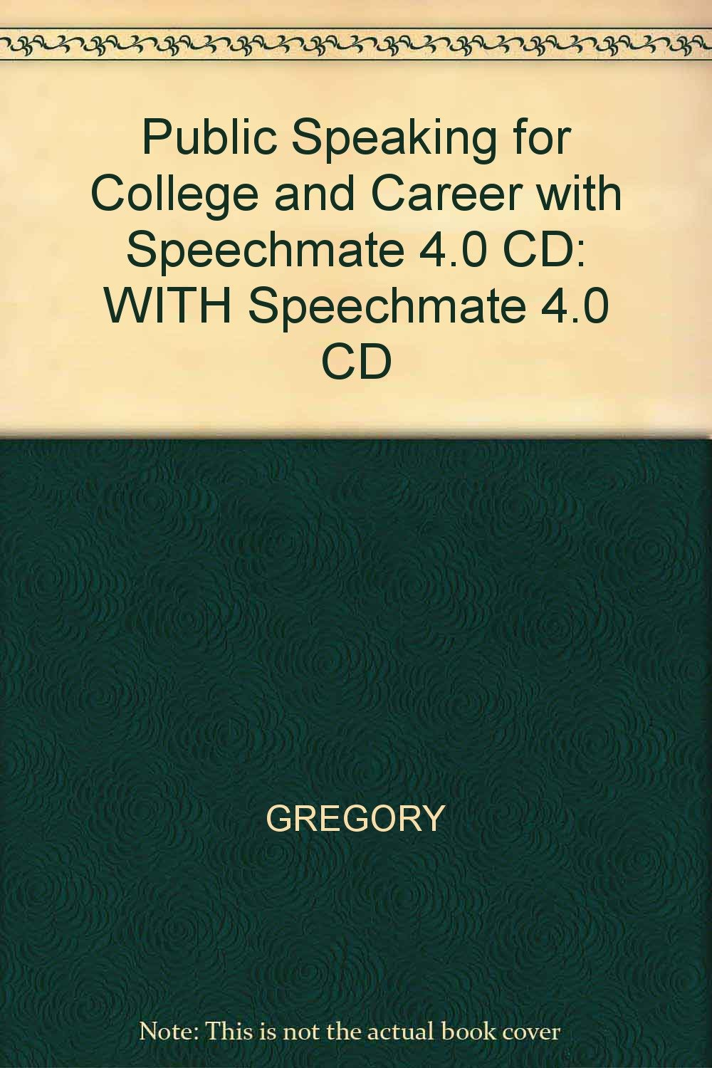 Download Public Speaking for College and Career: WITH Speechmate 4.0 CD PDF