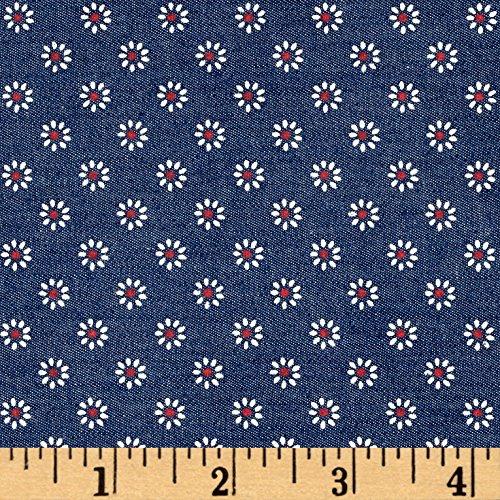 White Stretch Denim Fabric - 7