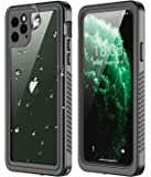RedPepper iPhone 11 Pro Max Waterproof Case, Clear Full Body Heavy Duty Protection with Built-in Screen Protector…