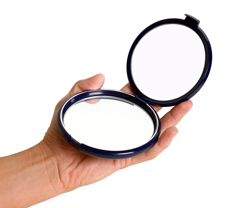 Floxite Specchio da trucco fl10cp 100Compact Pieghevole FL-CP10