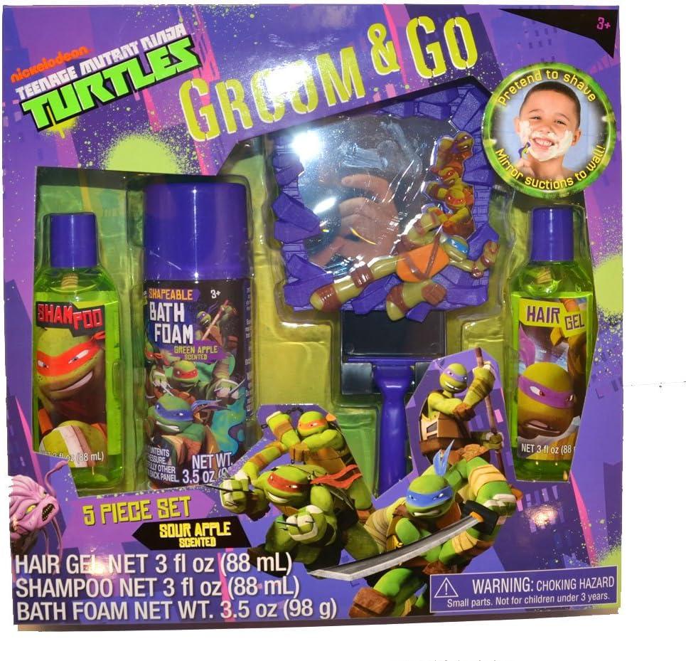 Amazon.com: Teenage Mutant Ninja Turtles Tmnt Boys 5pc Bath ...