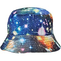 ZLYC High Quality Galaxy Bucket Hat Fisherman Outdoor Cap for Men Women