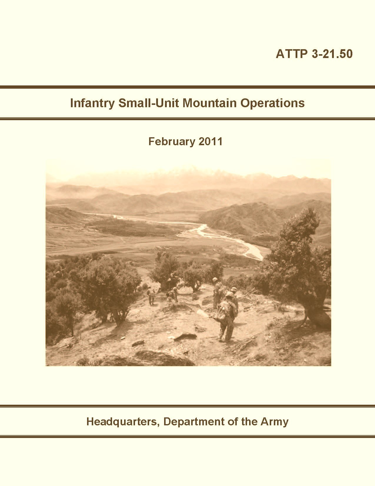 attp 3-21.50 Infantry Small-Unit Mountain Operations 2011 ebook