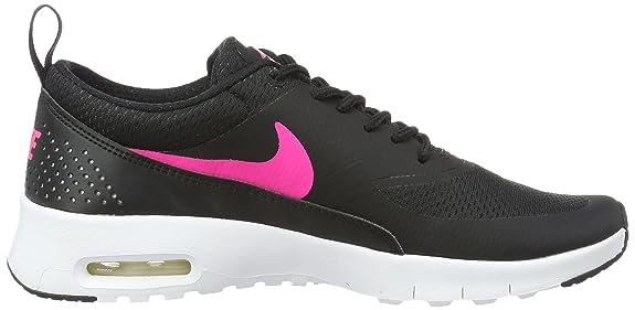 Nike Girls' Air Max Thea (GS) Running Shoes, Black (Black