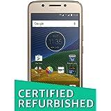 (Certified REFURBISHED) Motorola G5 XT1677 (Fine Gold, 16GB)