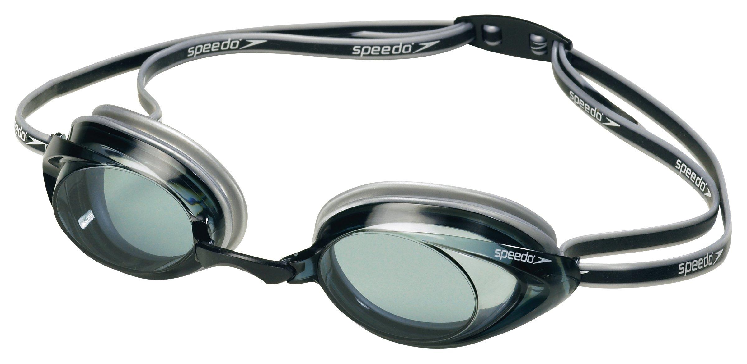 Speedo Vanquisher 2.0 Swim Goggle, Smoke, One Size