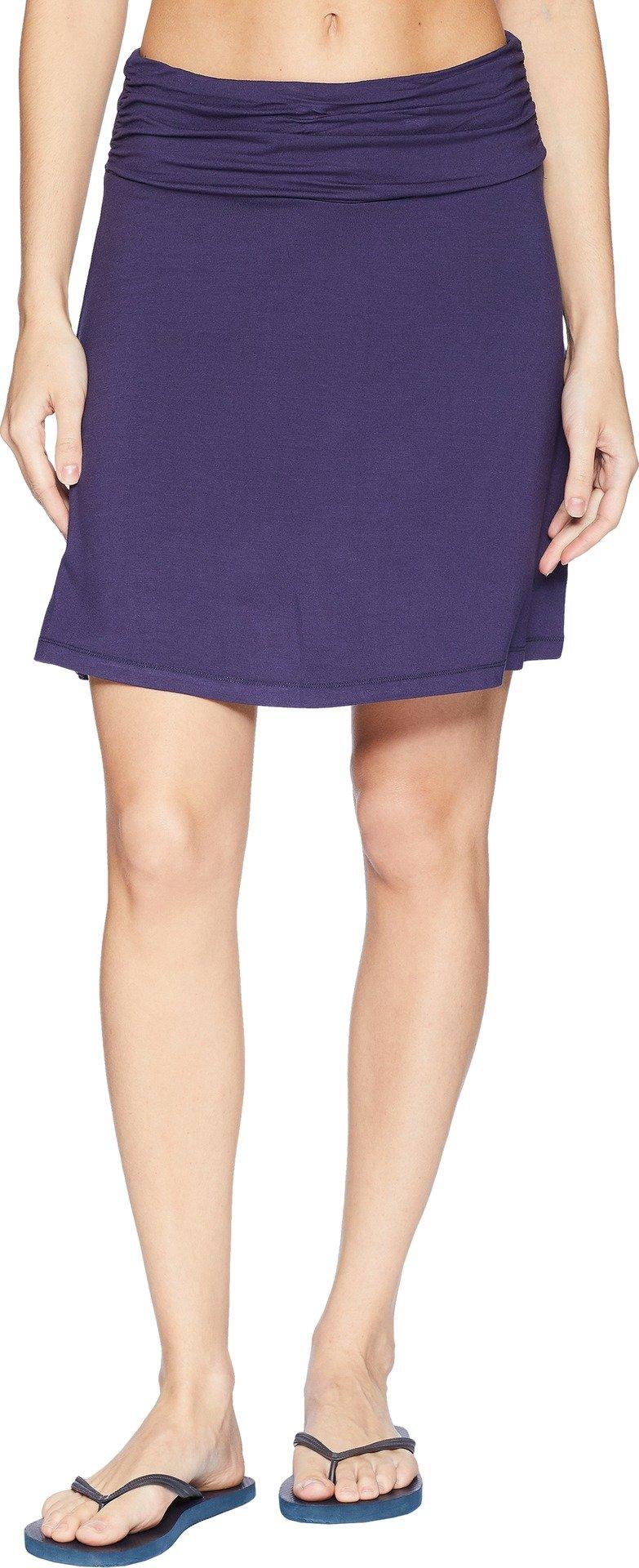 White Sierra Women's Tangier Odor Free Skirt, Eclipse Blue, Small