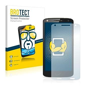 BROTECT Protector de Pantalla para Motorola Droid Turbo 2 [2 Unidades]: Amazon.es: Electrónica