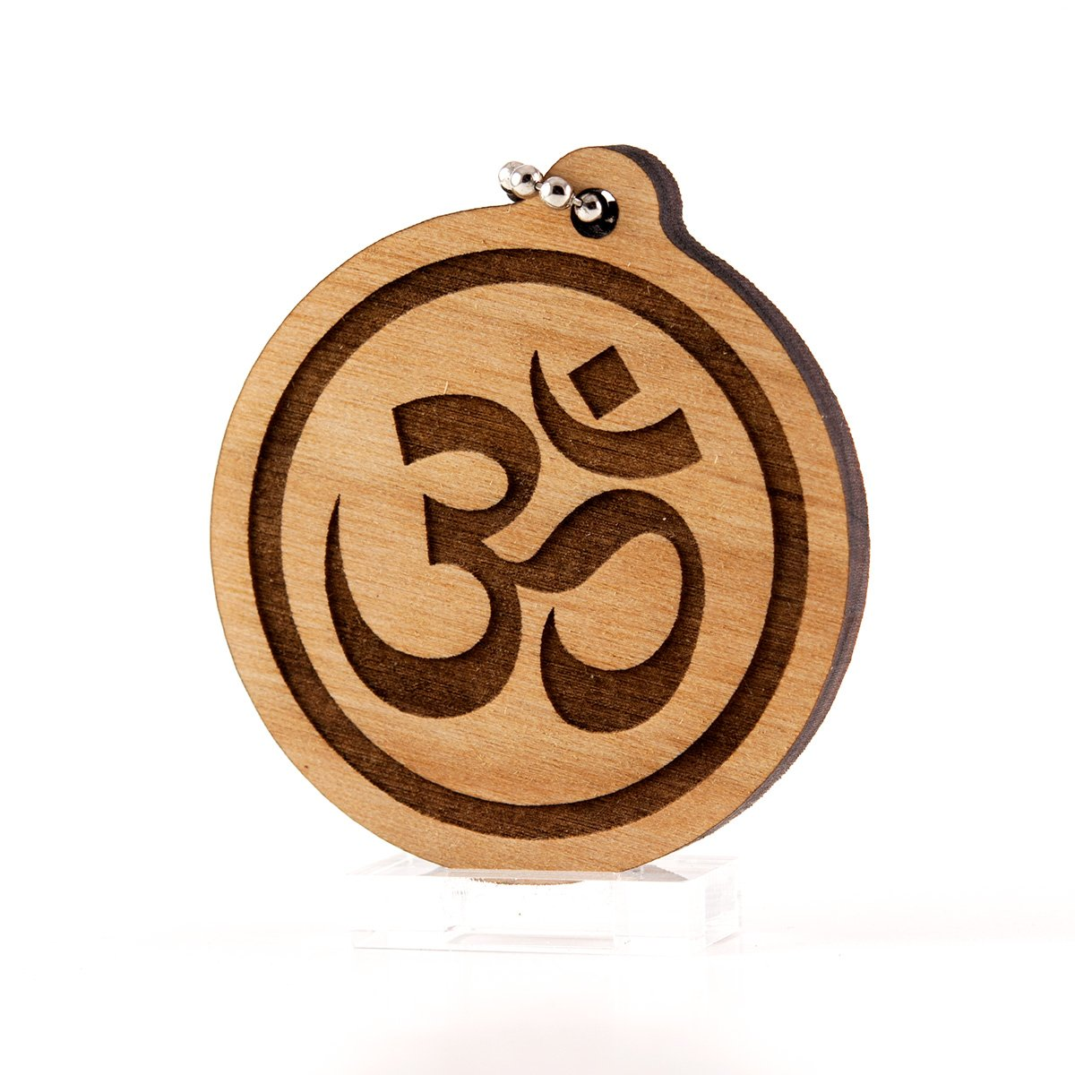 Amazon.com: Sunset Design Lab Om Symbol Yoga Hindu Wood ...