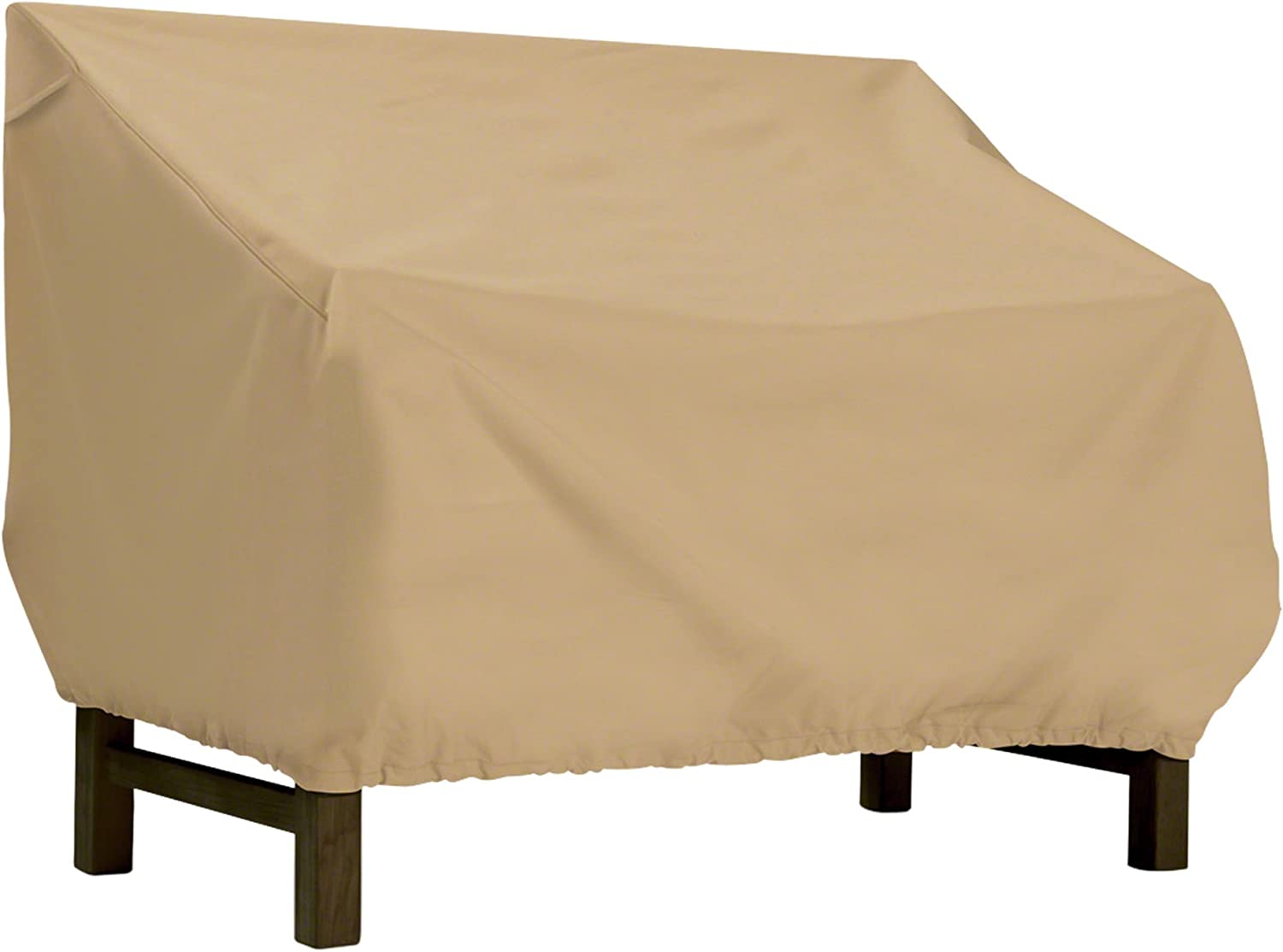 Classic Accessories Terrazzo Patio Bench/Loveseat Cover, Large