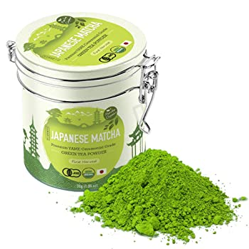 Matcha Organics Japanese Matcha Green Tea Powder