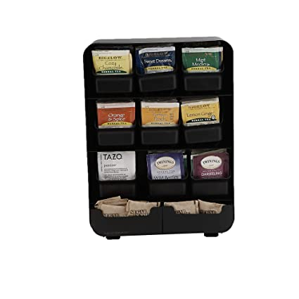 e25581f61b7 Amazon.com  Mind Reader 9 Removable Drawers Tea Bag holder and Condiment  Organizer