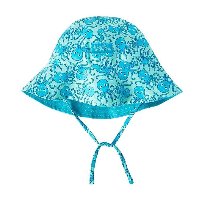Amazon.com: UVA SKINZ UPF 50 + bebé niño reversible sombrero ...