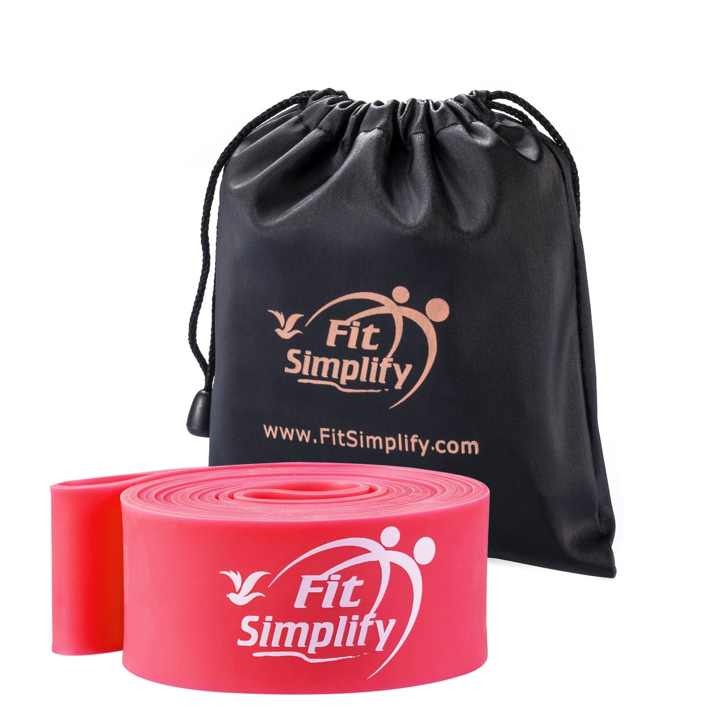 Fit Simplify Ballet Stretch Bands - Dance Stretchers and Flexiblity Trainers - For Dancers, Skaters and Gymnasts - Instructional Booklet, Carry Bag, Stretching e-Guide and Online Videos