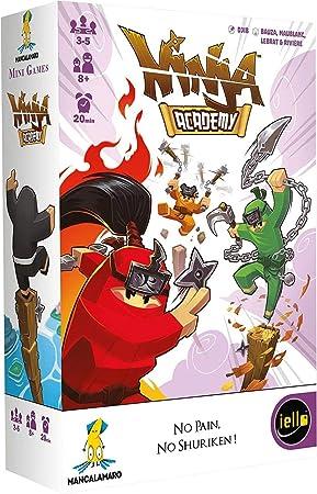 iello 51609 Ninja Academy - Juego de Mesa (Contenido en alemán): Amazon.es: Juguetes y juegos