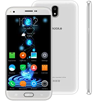 Telefono Movil Libres Baratos 4g,10Pcs V Mobile J5 5.5 Pulgadas 16GB 5MP Cámara Dual Sim Android 7,0 2800mAh Batería Smartphone 1.3GHz Quad Core (Blanco): ...