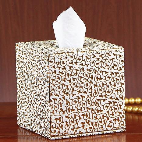 21 x 15 x 7,5 cm. Rectangle STOBOK Bois Bo/îte pour Mouchoir en Papier