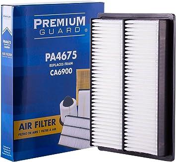 Premium Guard Air Filter PA4675| Fits 2000-19 Nissan Sentra, 2014-15 Rogue Select, 1997-17 Tsuru, 2008-13 Rogue, 2011-17 Juke, 2016-20 Infiniti Q50, 2008-12 FX35, 2014-18 QX70, 2017-20 Q60