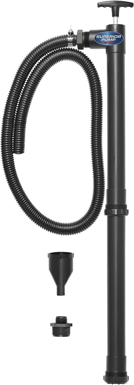 Superior Pump 90300 Multi-Purpose Adjustable Hand Pump, Black