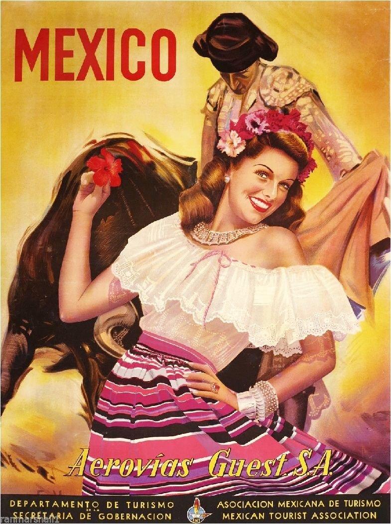 Amazon.com: México Mexicano Senorita Bull Fighter clásico ...