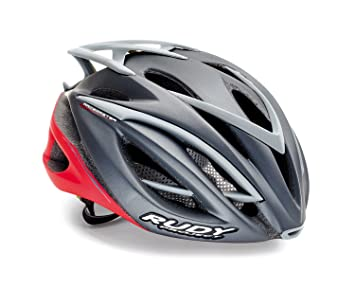Rudy Project Casco Bicicleta Racemaster, Titanium-Red Matte, SM